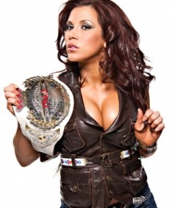 Knockouts Champion Mickey James