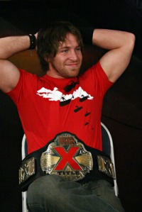 Chris Sabin with the then-NWA X Division Title