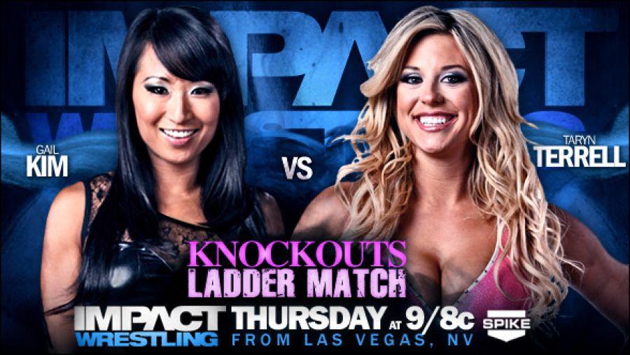 Kim vs. Terrell -- Ladder Match