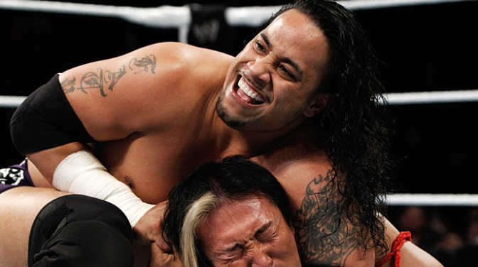 #TheNationWeek: Watch and Learn – Jimmy Uso, The Rock and Shawn Michaels