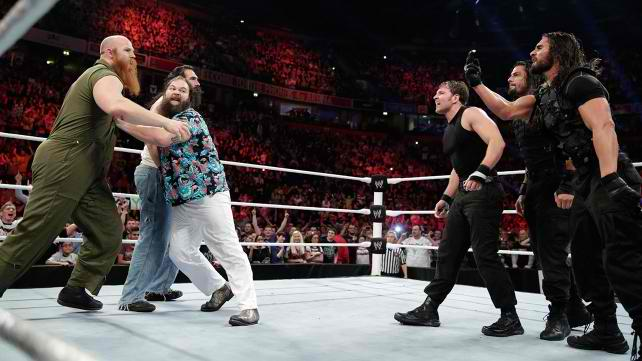 When The Shield Met The Wyatts: Raw Regurgitated, 11/11